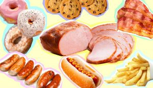 Food that has a bad effect To the human body